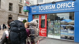 O Connell Street Tourist office